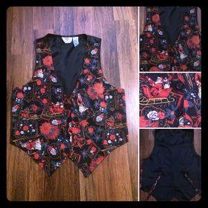 🦋 2/$10 or 5/$20 Vintage Christmas Vest.